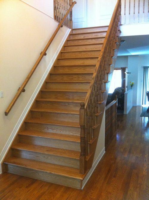 Open Log Stairs: Ottawa Stairs And Railings