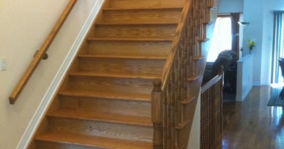 Oak Staircase Install